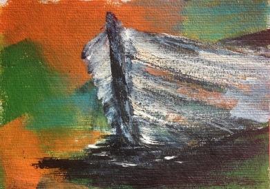 Acryl auf Papier, 17x24